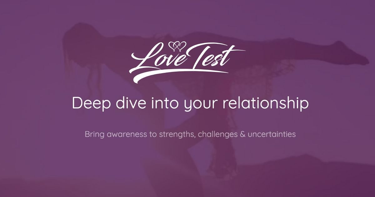 Test compatibility online relationship Love Calculator: